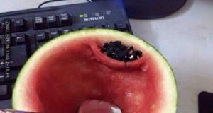 Jak jeść arbuza
