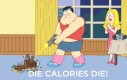 Gińcie kalorie!