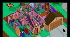 Tak wygląda dom Simpsonów od środka