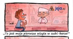 Wizyta w sushi-barze