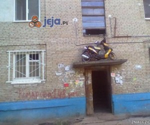Parking dla skutera