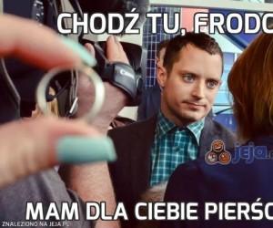 Chodź tu, Frodo!