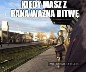 W oczekiwaniu na... pociąg?