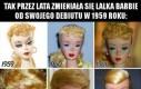 Ewolucja lalki Barbie