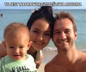 To jest naprawdę szczęśliwa rodzina