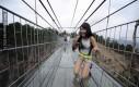 Najdłuższy szklany most na świecie - Chiny