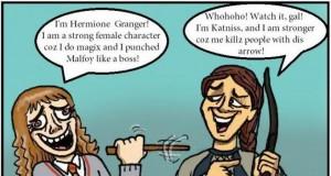 Hermiona? Katniss? Pf!