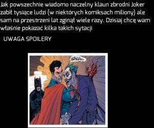 Różne śmierci Jokera