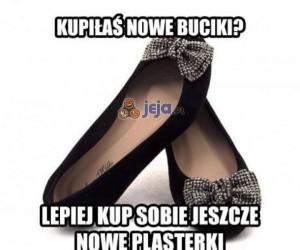 Kupiłaś nowe buciki?