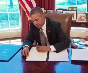 Obama, ty żartownisiu...