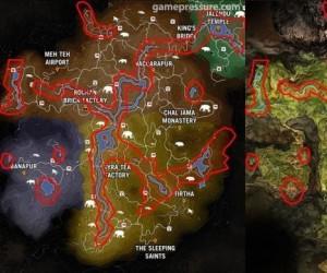 Mapa w FarCry 4 i Primal