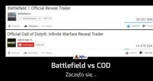Battlefield vs COD