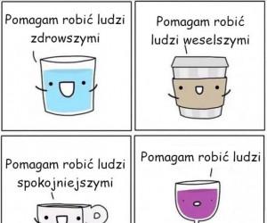 Różne napoje