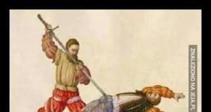 Kiedy w walce na miecze