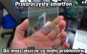 Przeźroczysty smartfon