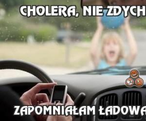 Cholera, nie zdychaj!