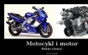 Motocykl i motor