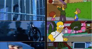 Najlepsze sceny odtworzone w Simpsonach