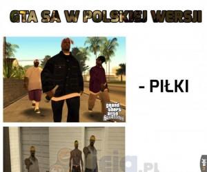 Gta SA w polskiej wersji