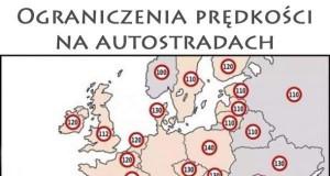 Ograniczenia prędkości na autostradach