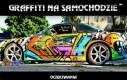 Graffiti na samochodzie