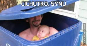 Cichutko, synu