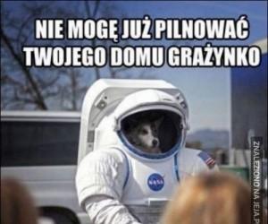Potrzebują mnie w kosmosie!
