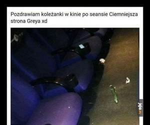 Pójdź na Greya, mówili...