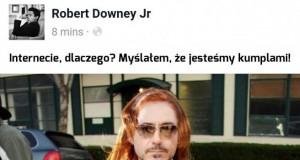 Biedny Robert, padł ofiarą internetu...