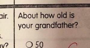 Ile lat ma twój dziadek?