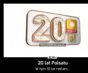 20 lat Polsatu