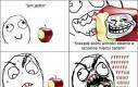 Przeklęte jabłka!