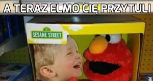 Elmo bardzo lubi dzieci