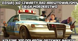 Wymiar sprawiedliwości w GTA