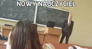 Nowy nauczyciel