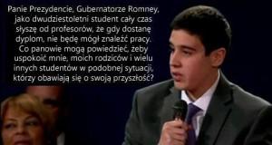 Brutalna prawda podczas debaty