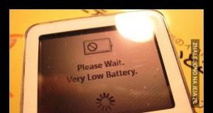 Ostatnia kreska baterii