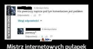 Mistrz internetowych pułapek