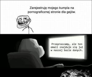 Trollowanie kumpla
