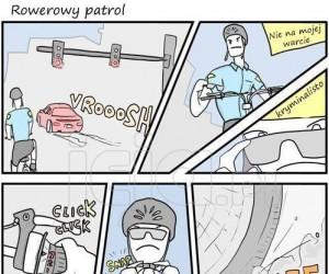 Rowerowy pościg