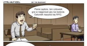 Gamer w sądzie