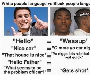 Język białasów i czarnych