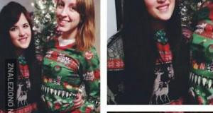 Tegoroczny sweter był stylowy