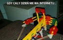 Gdy cały dzień nie ma internetu...