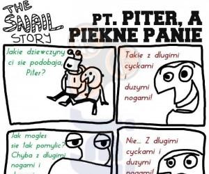Pt. Piter, a piękne panie