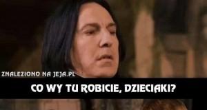 Podejrzliwy Snape