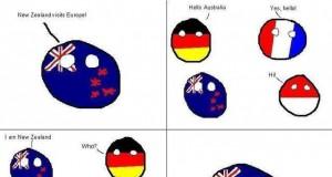 Nowa Zelandia w Europie
