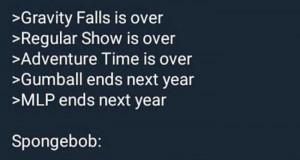 Wszystko kiedyś się kończy... poza Spongebobem