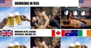 Picie w różnych krajach