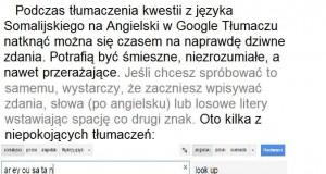 Tajemnica Google Translatora